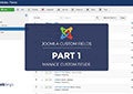 joomla custom fields tutorials